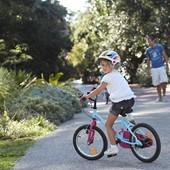 "Детский фирменный велосипед B'twin  Wendy Pony 16"""