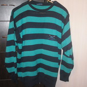 Мужской фирменный свитер.Р Л,на укр 50-52