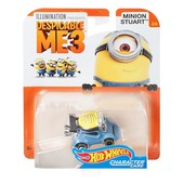 Hot Wheels Despicable me Minion stuart vehicle