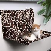 Лежак, гамак на батарею, для кошек, котов и мини собак