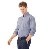 Рубашка, синяя клетка. ворот 40-41, TCM, tchibo. Германия, отличное качество