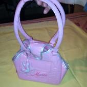 красивая детская сумочка, можно для пони или для чи-чи лав