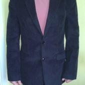 Стильный мужской пиджак с заплатками