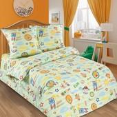 Комплект детского постельного белья Улыбка, поплин