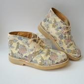 Дезерты,ботинки в цветы Clarks (28,5 размер)