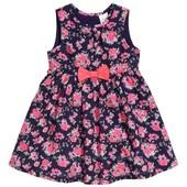 Платье с цветами H&M ( 12-18 мес)