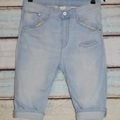 Классные шорты Denim. Сост. 5+. Джинсовые, заниженной матней, капри, шорты, стильные, модные, чиносы