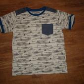 Футболка на 8-9 лет Matalan, 100% котон