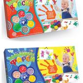 Пальчиковые краски Моё первое творчество 4 цвета Рк-02-01,02 Данко тойс