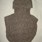 болеро,пончо вязаное до 2 лет