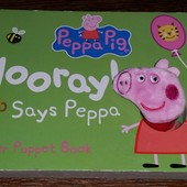 фирменная книжка Peppa Pig