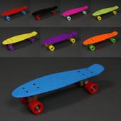 Скейт Пенни борд penny board 55 см полиуретановые колеса Abec-7