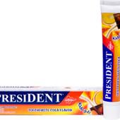 Детская зубная паста President 3-6л, 50мл Италия