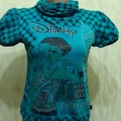 Красивая блуза со стразами р. 44-46