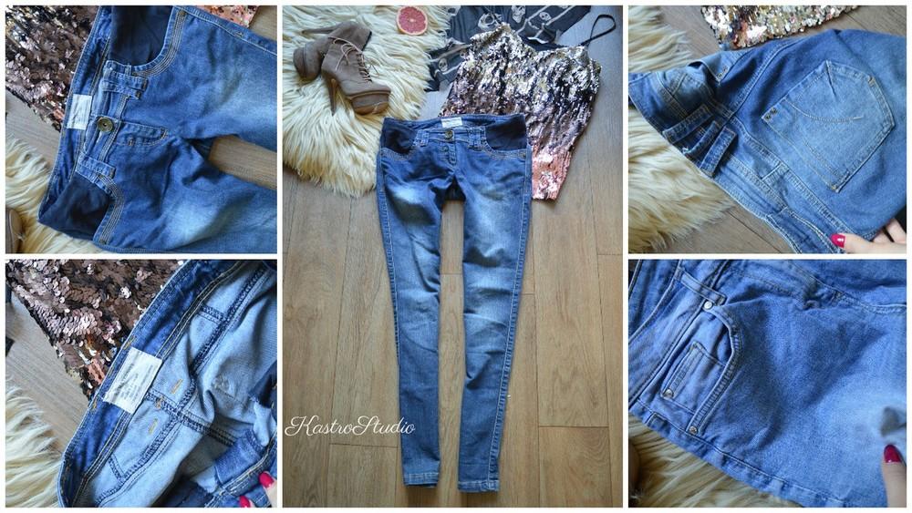 Вставить резинку в джинсы для беременных 14