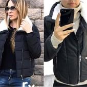 Куртка короткая утепленная р.42-54