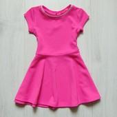 Шикарное яркое фактурное платье для девочки. Y.D. Размер 1.5-2 года. Состояние: новой вещи