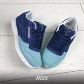 Кроссовки Reebok синие+голубой