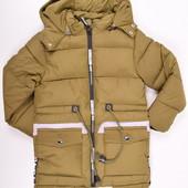 Куртка из плащевки на меху