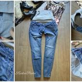 Мягкие джинсы для беременных с широкой резинкой,р-р ХХЛ