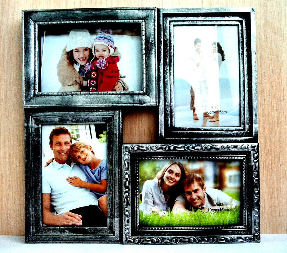 Четыре фото в одной рамке
