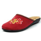 100-NC-7-016  Новинка! Тапочки женские домашние Inblu Цвет - бордовый, размеры 36-41