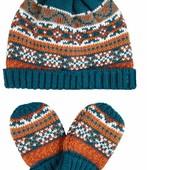Mothercare Комплект шапка с варежками