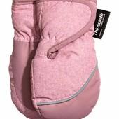 Зимние варежки для девочки. 6-12 месяцев, 1-2 года