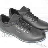 Мужские кожаные кроссовки, 2 цвета