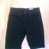 Фирменные джинсовые шорты 28 р.