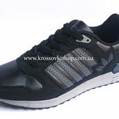 Кроссовки мужские Adidas black (реплика)