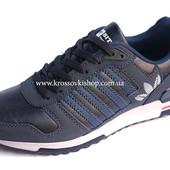 Кроссовки мужские Adidas dark blue (реплика)