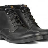 Кожаные ботинки Clarks Devington Hi - классика, стиль и комфорт!