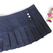 Школьная юбка 12-15 лет  (талия 72, длина 32)