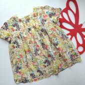Туника,блуза с принтом Zara(9-12 мес)