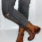 Ботинки 39 р Paul Green Австрия кожа оригинал демисезон