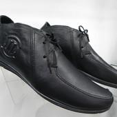 Кожаные туфли 41,43,44