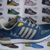 Мужские кроссовки копия Adidas 41-46р. светло синие.