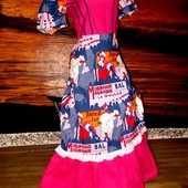 Платье маскарадное стиль ретро кабаре 36-40р