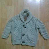 Фирменный кардиган, свитер 1-1,5 года