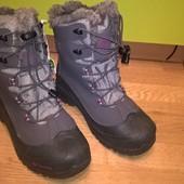 ботинки сапоги columbia 39р.25см.