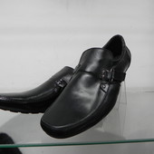 Кожаные туфли 42 разм.