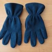 Флисовые перчатки на 5 - 7 лет