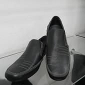 Кожаные туфли 41 разм.