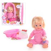 Кукла Валюша - аналог Baby born интерактивная с аксессуарами