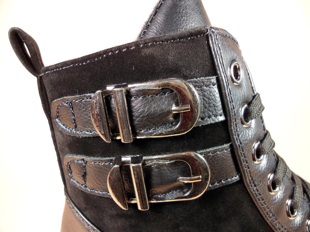 Женские демисезонные модные ботинки на низком ходу. размер 36-41. фото №10