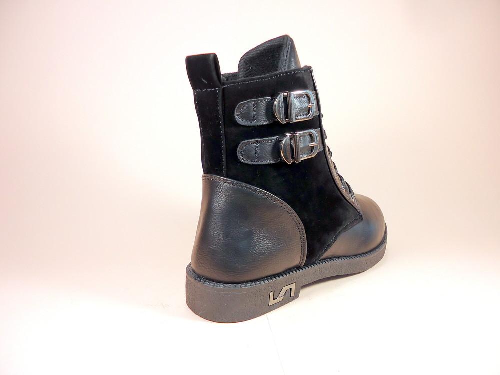Женские демисезонные модные ботинки на низком ходу. размер 36-41. фото №7
