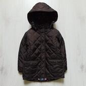 Стильная демисезонная куртка для девочки. Lindex. Размер 2 года. Состояние: идеальное