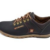 Мужские кроссовки Columbia 30 черные (реплика)