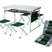 Набор для пикника стол+4стула.